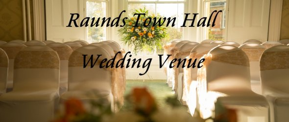Weddings at Raunds Town Hall