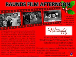Raunds Film Afternoon - It's a Wonderful Life