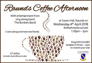 Raunds Coffee Afternoon