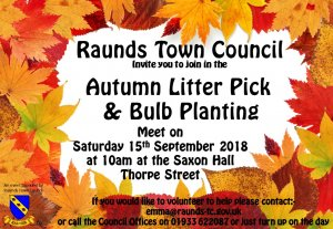 Autumn Litter Pick and Bulb Planting