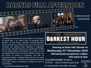 Raunds Film Afternoon - Darkest Hour