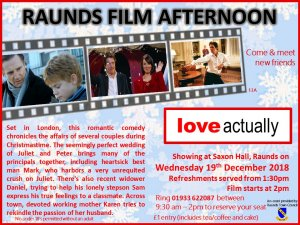 Raunds Film Afternoon - Love Actually