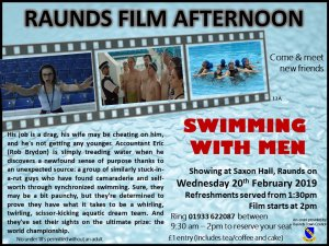 Raunds Film Afternoon - Swimming with Men
