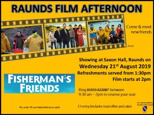 Raunds Film Afternoon - Fisherman's Friends