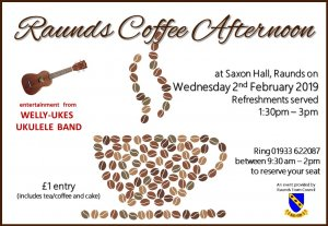 Raunds Coffee Afternoon - Welly Ukes