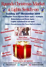 Raunds Christmas Market & Lights Switch-On event