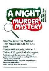 A Night of Murder Mystery