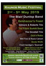 Raunds Music Festival 2nd - 5th May 2019