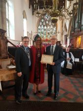 Raunds Mayor's Service of Thanksgiving and Celebration for his mayoral year