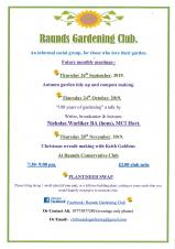 Raunds Gardening Club