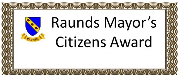 Raunds Mayor's Citizens Awards winners