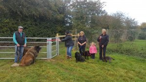 Official opening of Raunds Dog Park