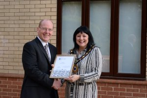 Gold Award for Raunds