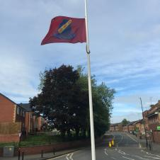 Town Council Flag remains at half-mast