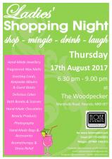 Ladies Shopping Night